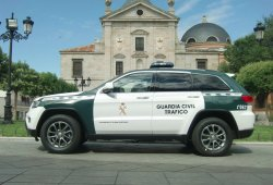 Jeep Grand Cherokee de la Guardia Civil, el último de la flota