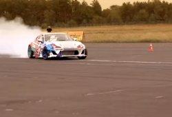 El drift más rápido del mundo, con un Toyota GT86 de más de 1.000 CV