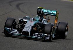Rosberg marca la pole en mojado en Spa