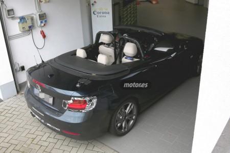 BMW Serie 2 Cabrio, fotos espía sin la capota