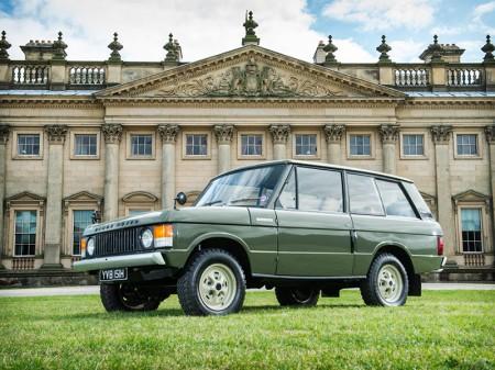 Sale a subasta un Range Rover clásico muy especial