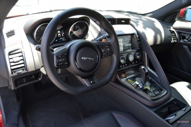 Prueba Jaguar F Type R Coup Ii Interior