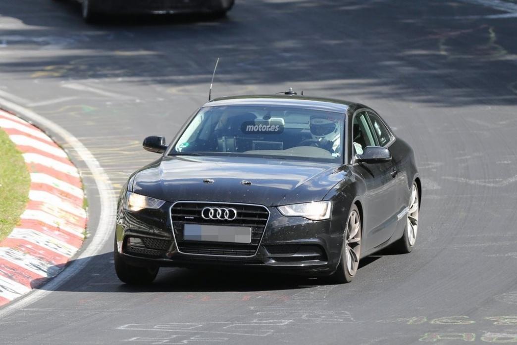 Nuevo Audi A5, su chasis ya está de pruebas en Nürburgring
