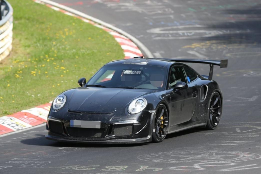 Porsche 911 GT3 RS 2015, de nuevo en Nürburgring