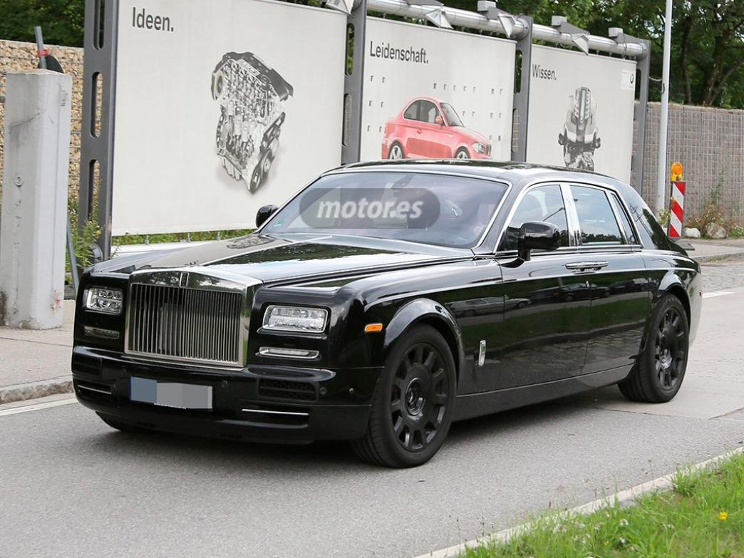 Primeras fotos espía del Rolls-Royce Phantom 2016