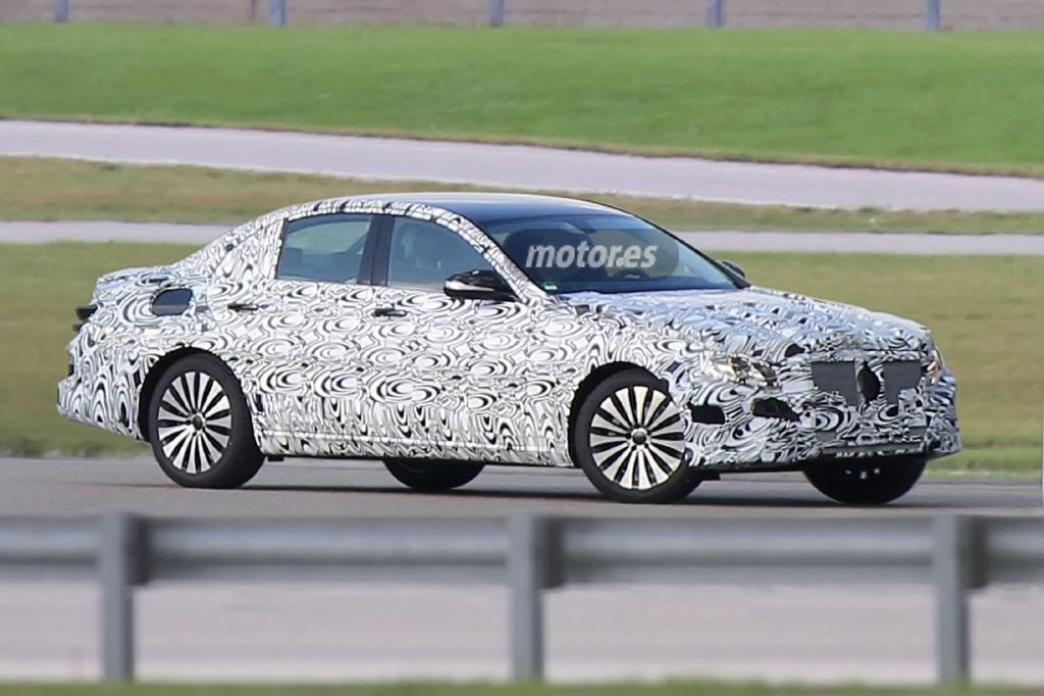 2016 Mercedes Clase E, pillado por primera vez