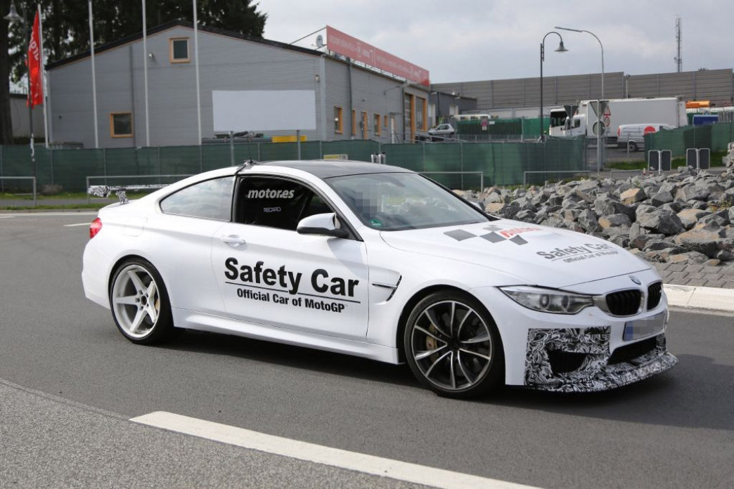 BMW M4 GTS ¿pillado en pruebas?