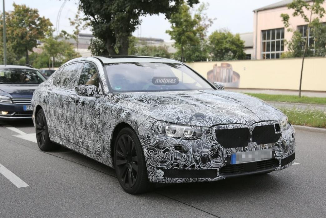 BMW Serie 7 2015, nuevas fotos espía con más detalle