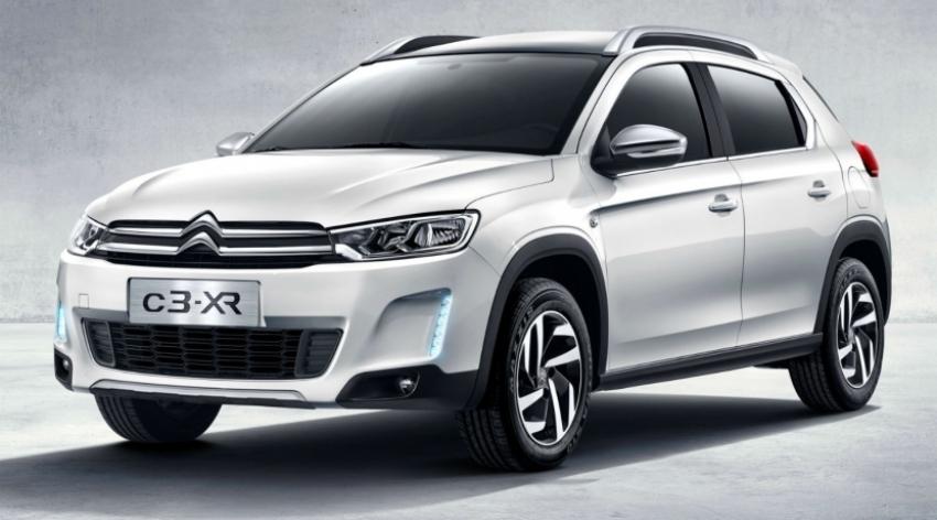 Citroën C3-XR un pequeño crossover para China
