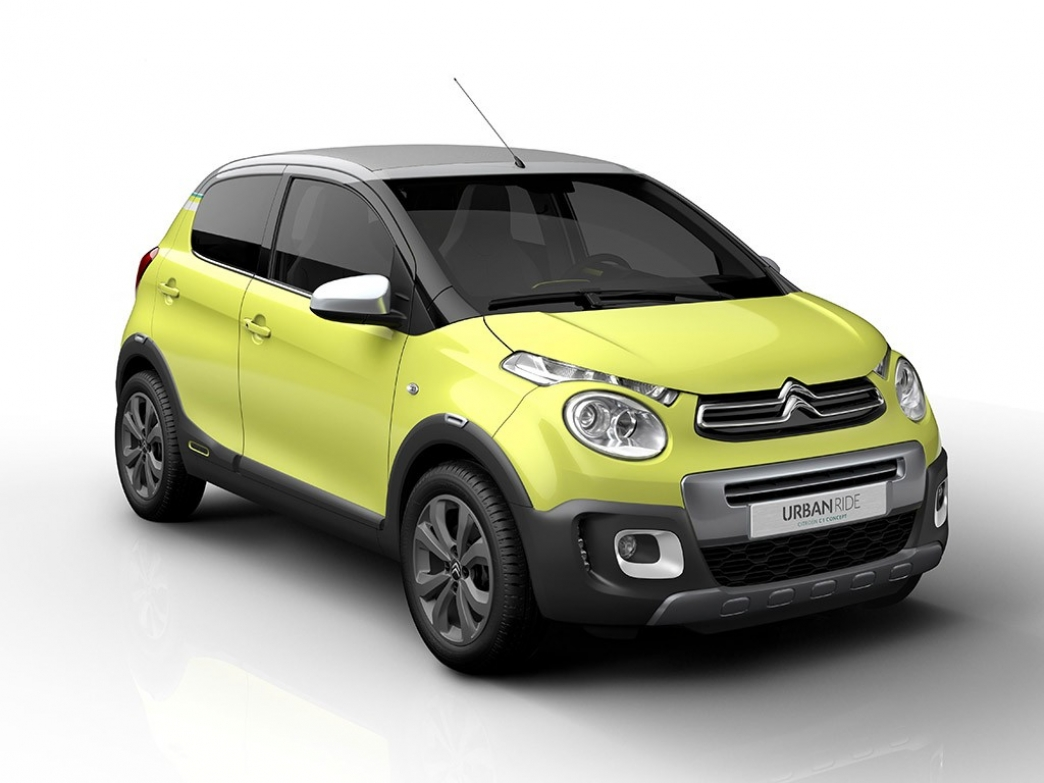 Citroën Concept C1 Urban Ride, mini aspecto aventurero