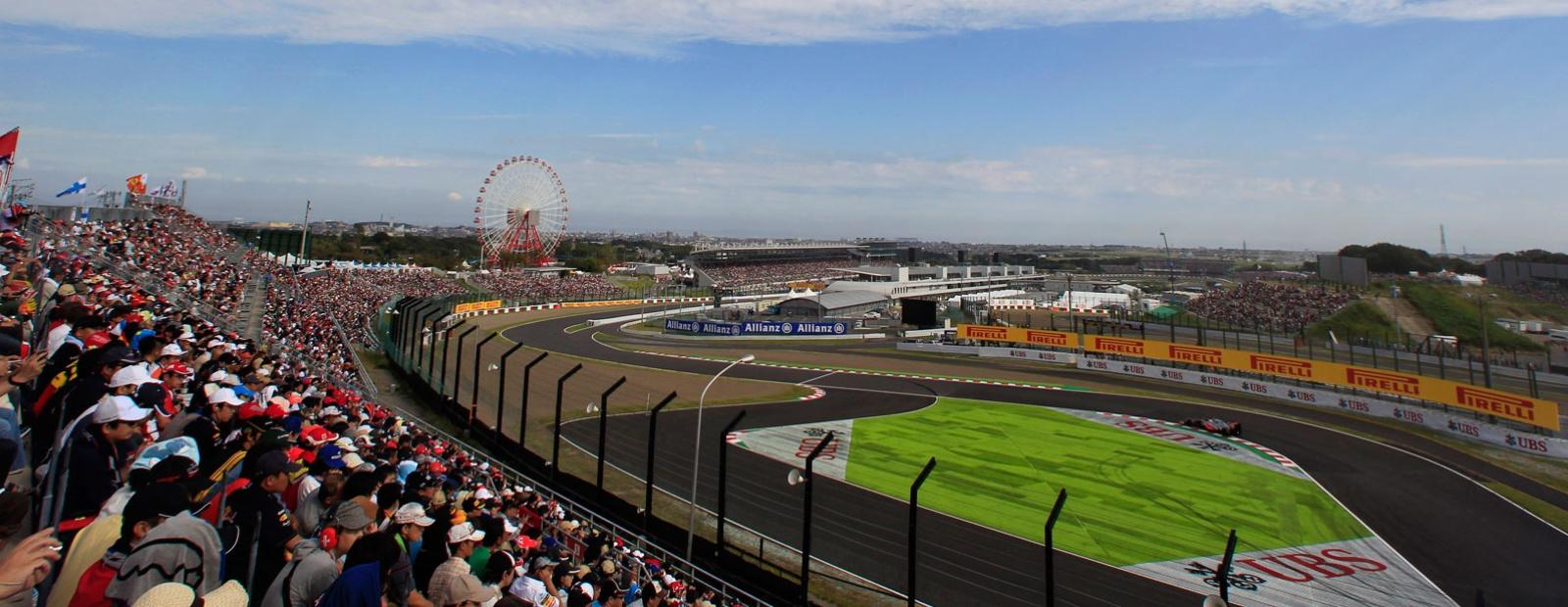 Agenda, horarios del GP de Japón F1 2014 y datos del circuito de Suzuka