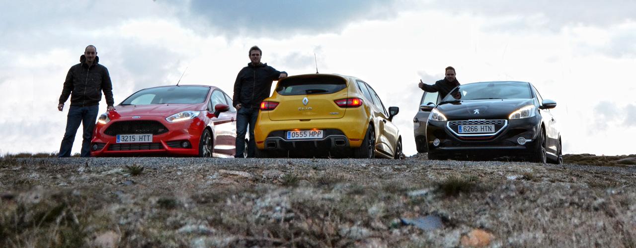 Villanos de la ciudad: Fiesta ST, Clio RS, 208 GTi (III)