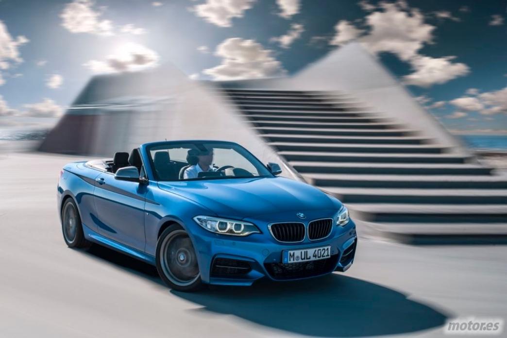 El BMW Serie 2 Cabrio ya es oficial