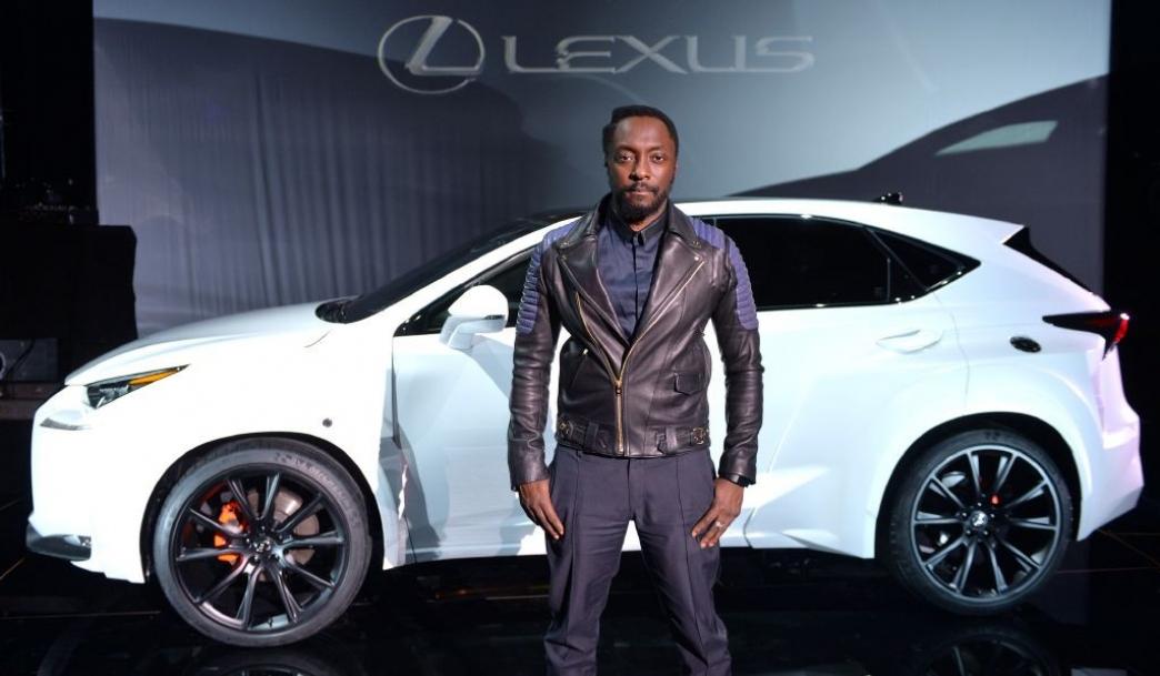 El Lexus NX de Will.I.Am