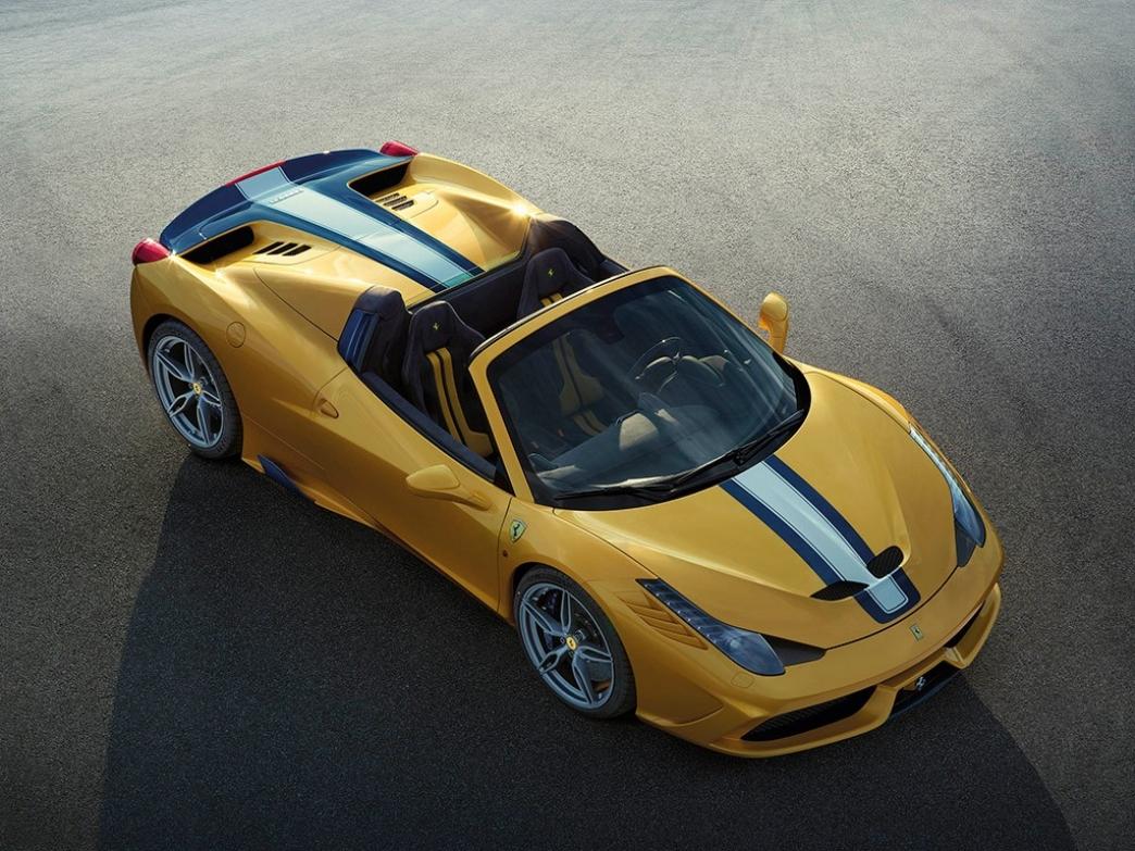 Ferrari 458 Speciale A, para 499 adinerados coleccionistas