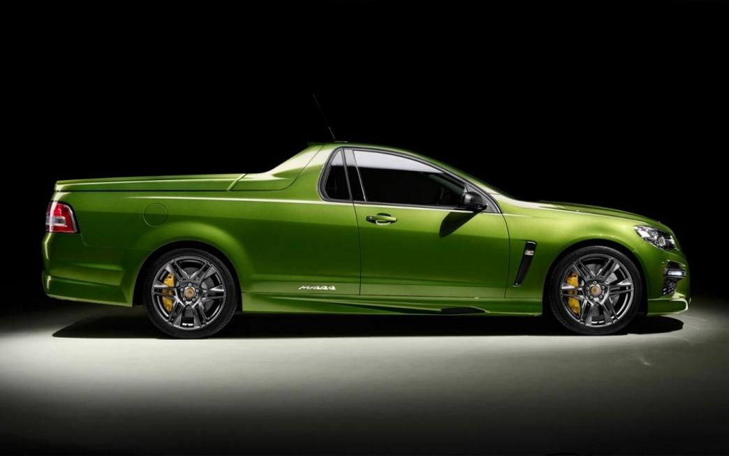 Holden Maloo HSV GTS, la ute más deportiva en edición limitada
