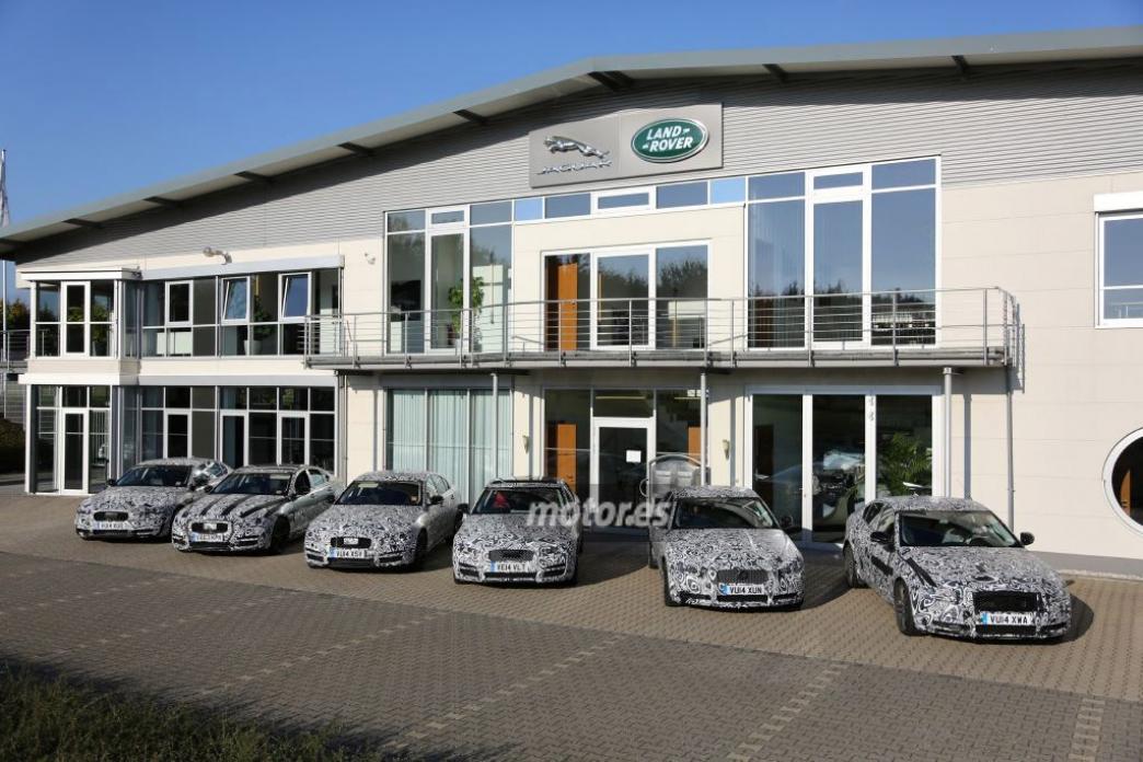 Jaguar XE, fotos espía de 6 prototipos