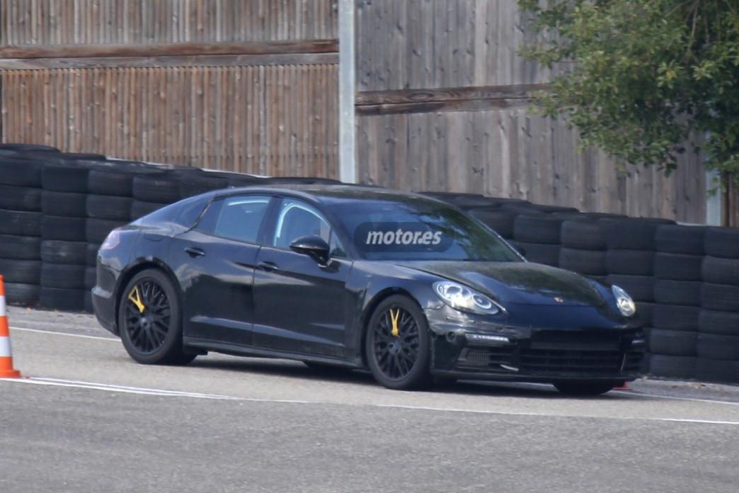 La nueva generación del Porsche Panamera ya está de pruebas
