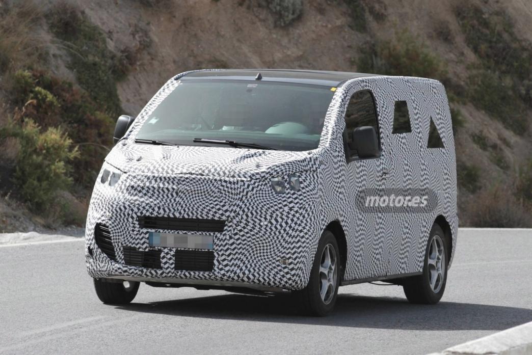 Las nuevas Citroën Jumpy y Peugeot Expert espiadas