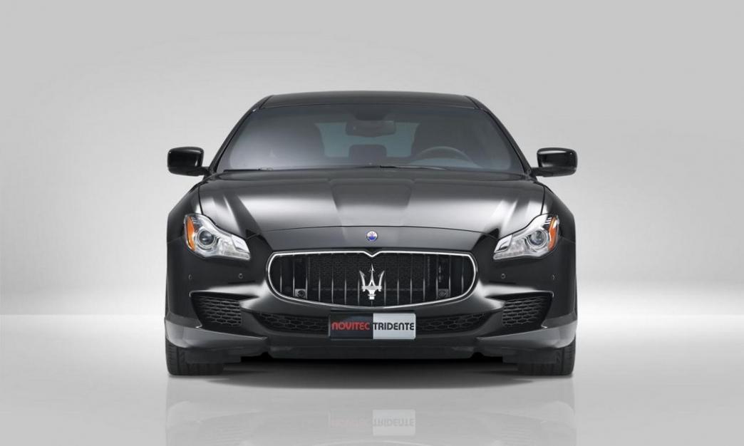 Maserati Quattroporte por Novitec Tridente, hasta 605CV