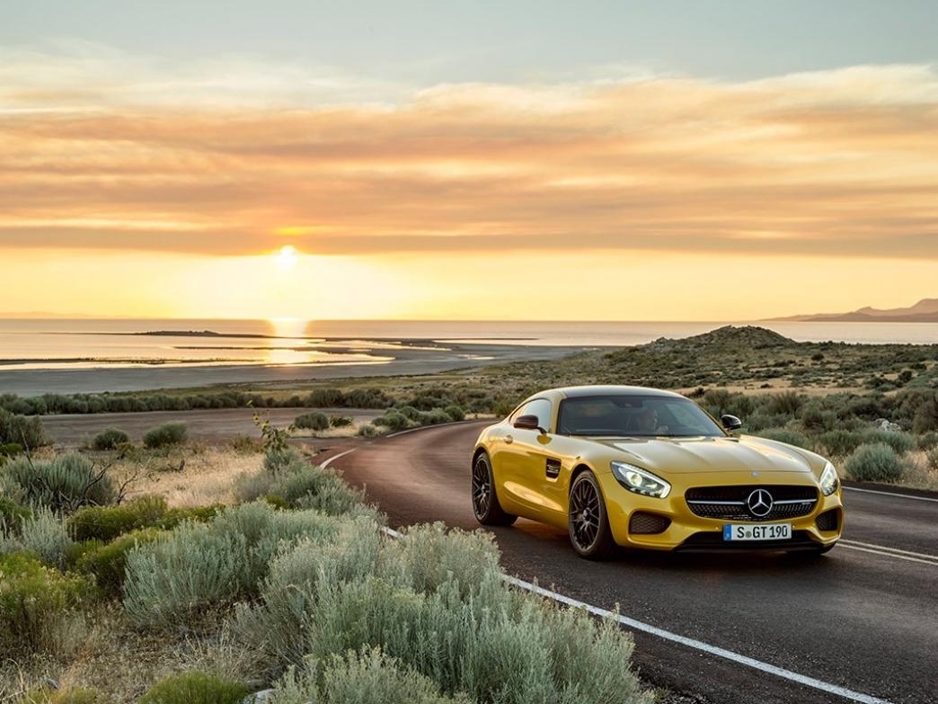 Mercedes AMG GT, potencia desatada de origen alemán
