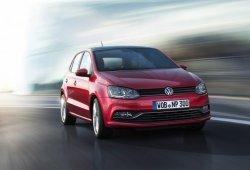 Alemania - Agosto 2014: El Volkswagen Polo alcanza el podio