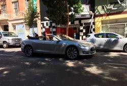 Aparece un Tesla Model S descapotable en California