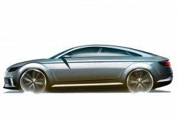 El Audi TT Sportback Concept en bocetos ¿Camino a París?