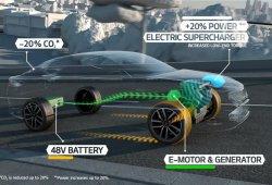 Kia Optima T-Hybrid, gasoil y electricidad para el Salón de París