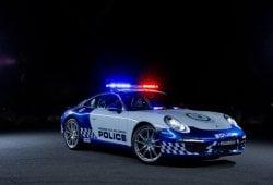 La Policía de Nueva Gales del Sur cuenta con un Porsche 911 Carrera