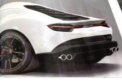 Lamborghini Asterión filtrado con nuevas fotos