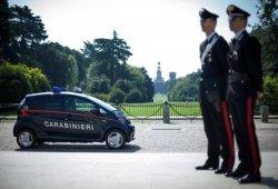 Los Mitsubishi i-MiEV de los Carabinieri