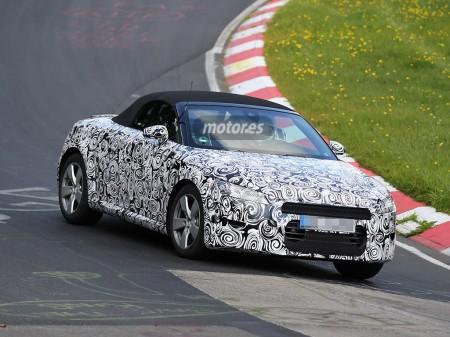 Audi TT Roadster 2015, nuevas imágenes durante una sesión de pruebas