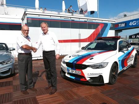 BMW M seguirá siendo el coche oficial de Moto GP
