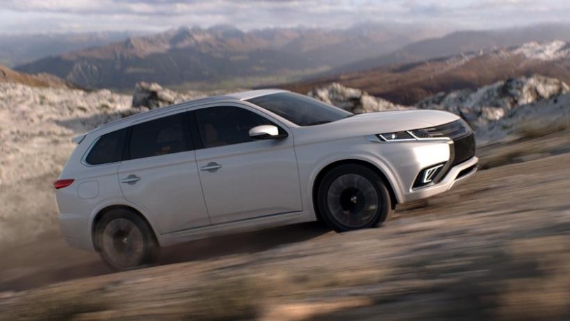 Mitsubishi Outlander PHEV Concept-S, primeras imágenes oficiales