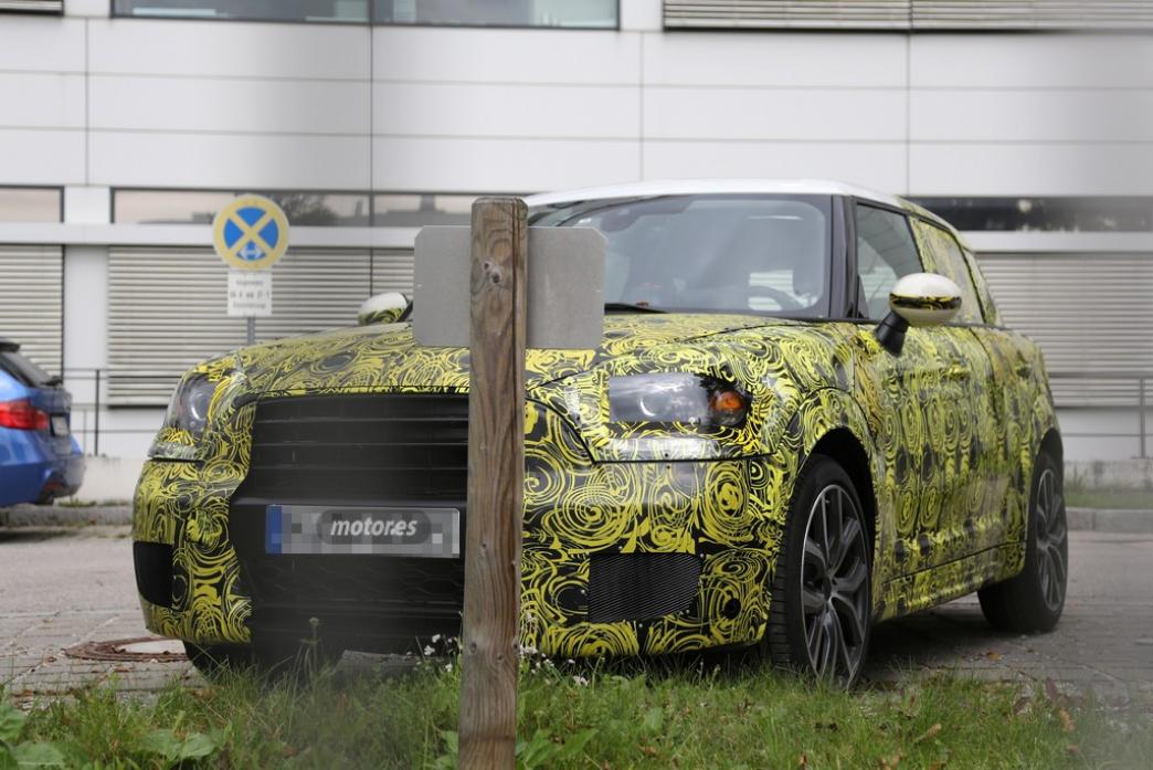 Nuevo MINI Countryman, el SUV británico ya está de pruebas