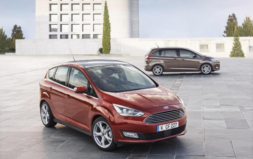Ford C-MAX y Grand C-MAX 2015, nuevo diseño, motores y equipamiento