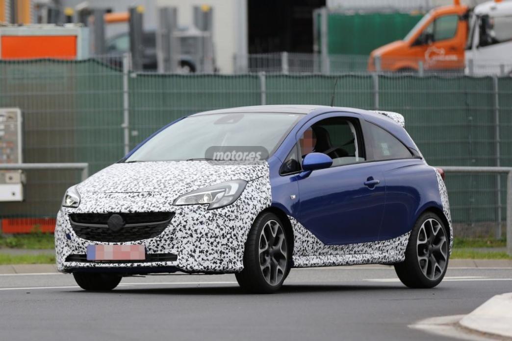 El Opel Corsa OPC 2015 está en fase de pruebas