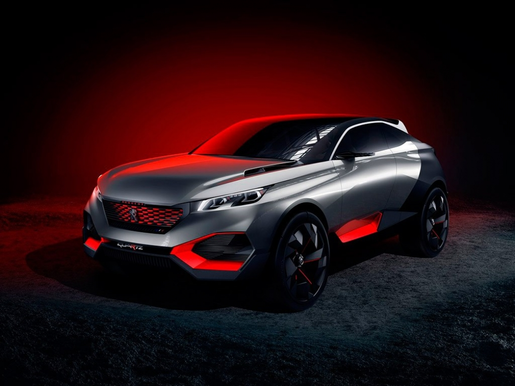 Peugeot Quartz Concept, directo al salón de París