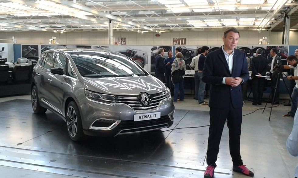 Se filtra el interior del nuevo Renault Espace