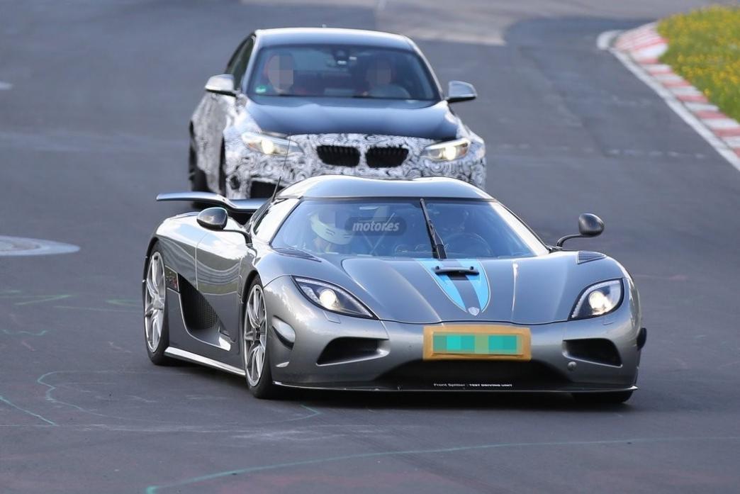 Una nueva versión del Koenigsegg Agera R, en pruebas en Nürburgring
