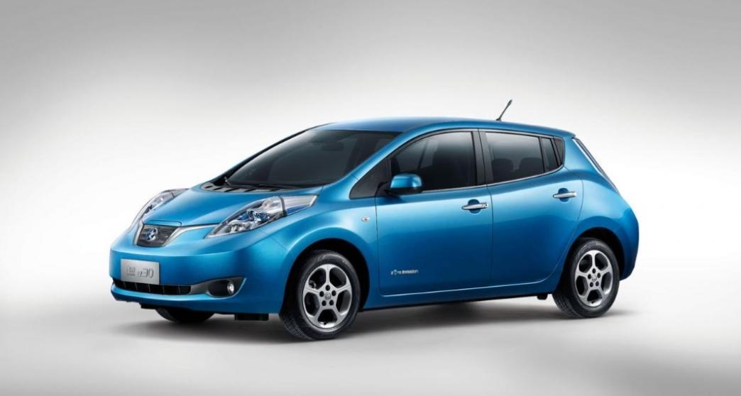 Venucia e30, así se ve el Nissan Leaf chino