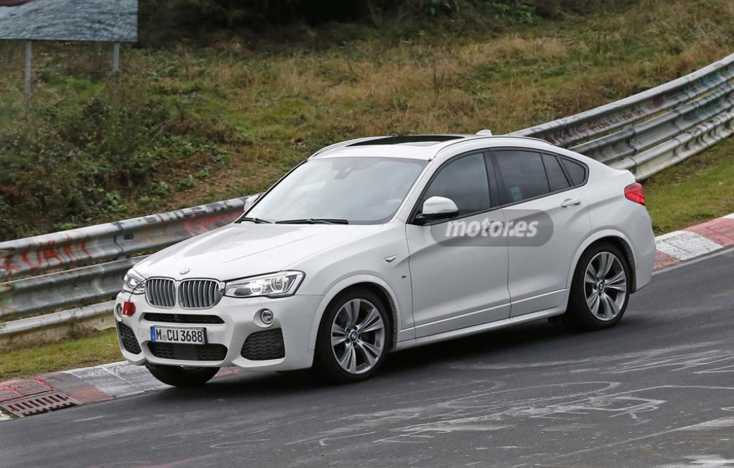 2015 BMW X4 M40i: pillado sin camuflaje