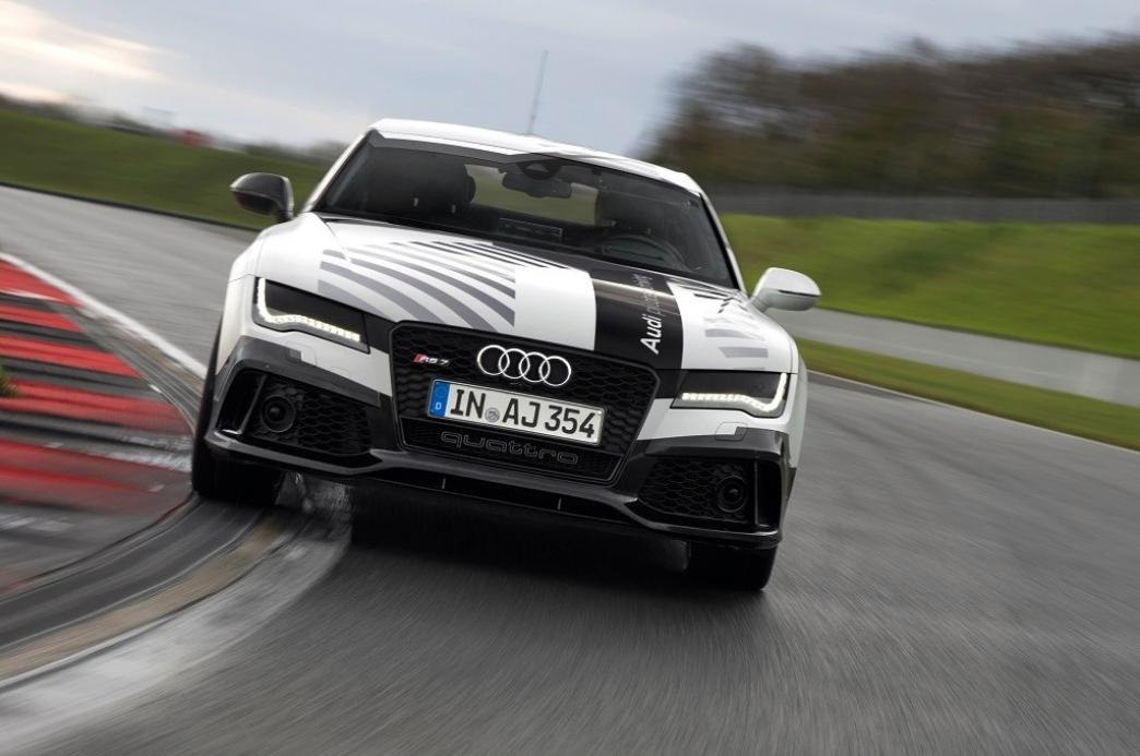 Audi desvela más detalles del RS7 de conducción autónoma de Hockenheimring (+Vídeo teaser)