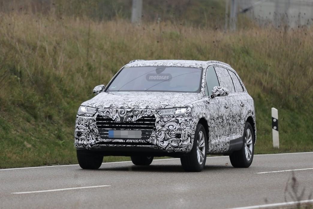 Audi Q7 2015, así serán sus nuevos faros Matrix LED y su interior