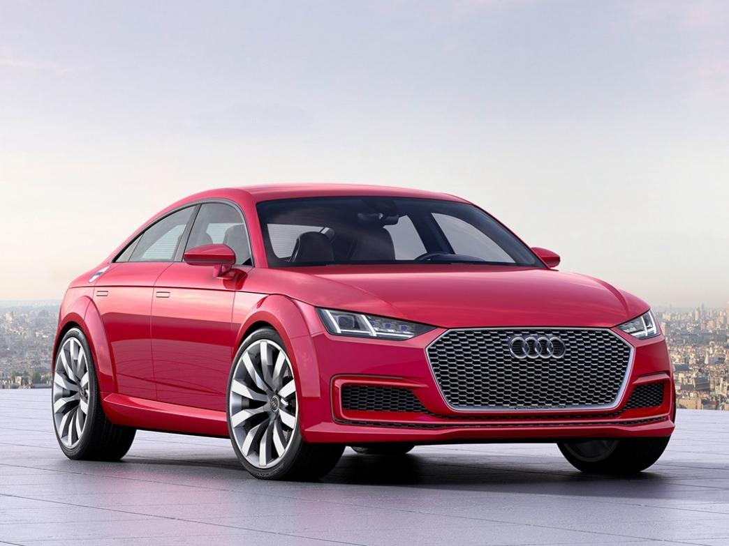 Audi TT Sportback Concept, deportividad para cuatro personas