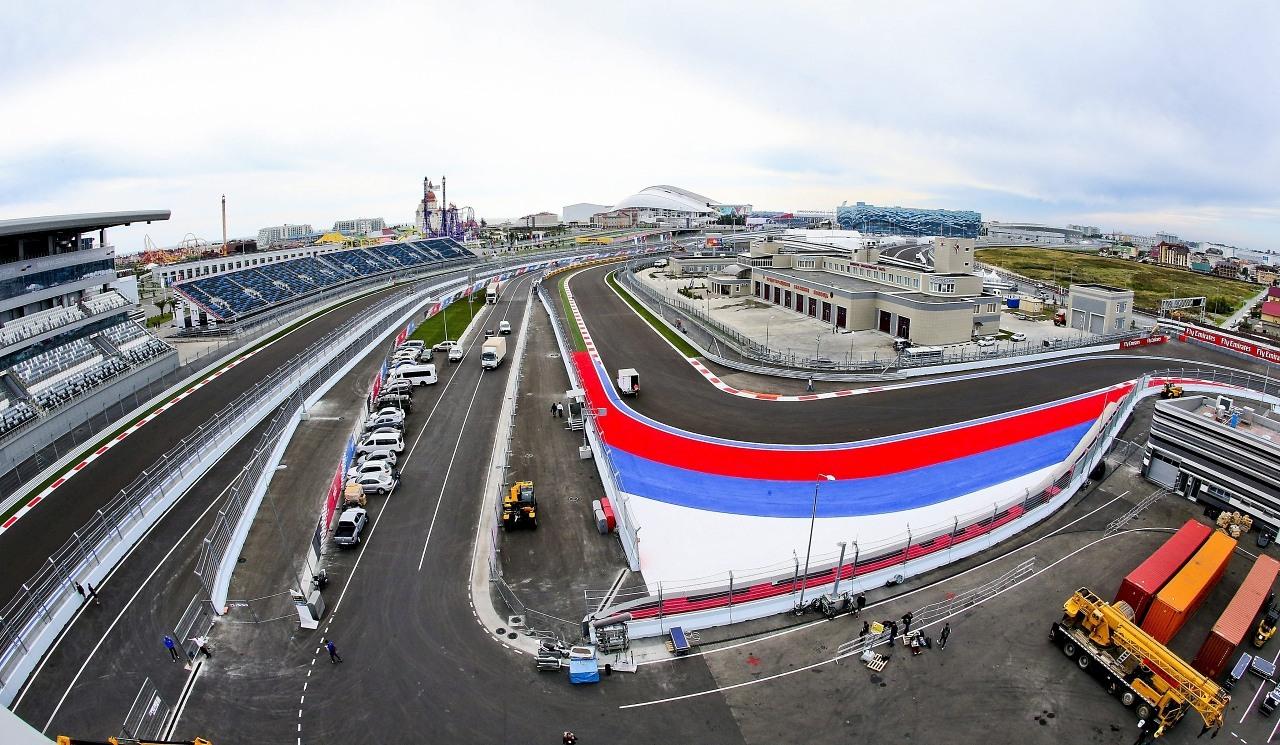 Agenda, horarios del GP de Rusia F1 2014 y datos del circuito de Sochi