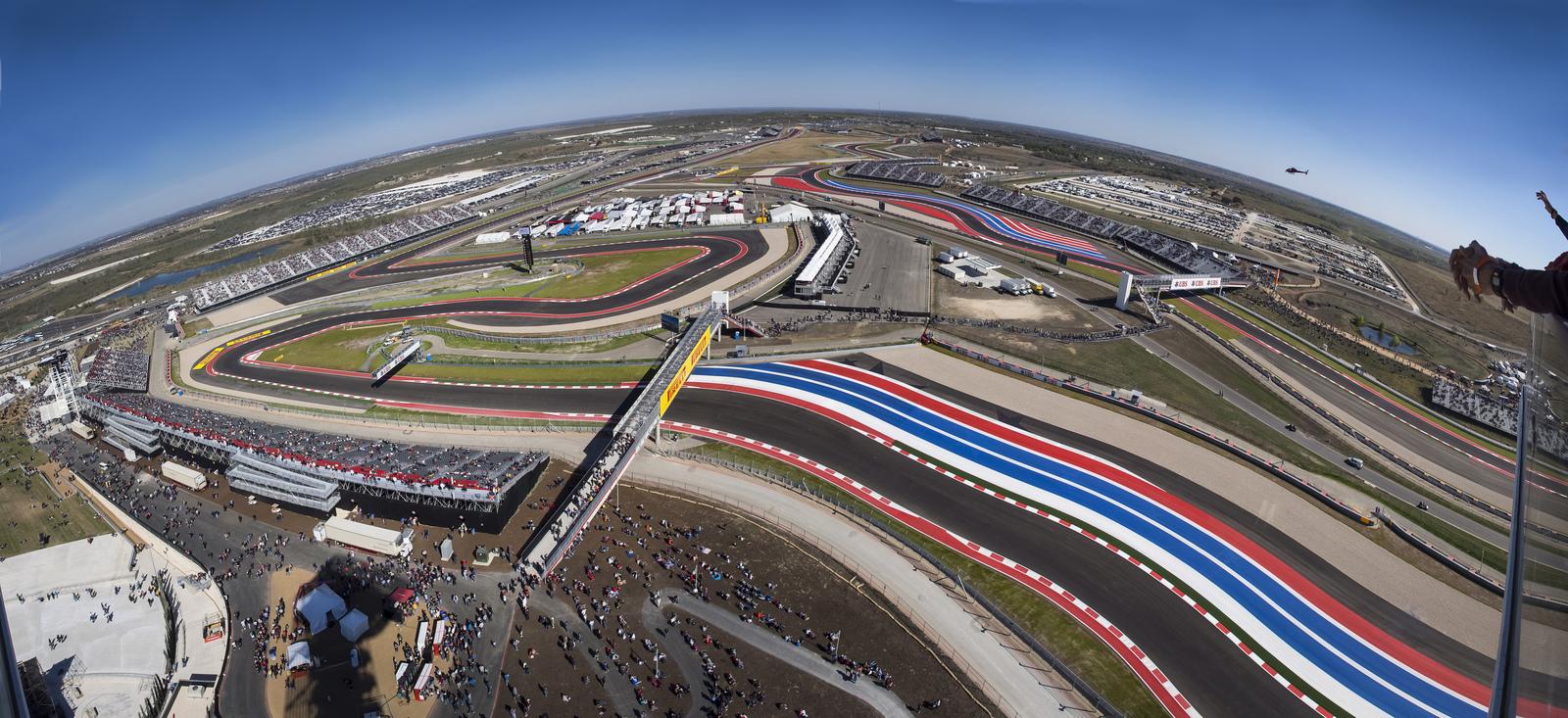 Horarios del GP de EEUU F1 2014 y datos del circuito de Austin