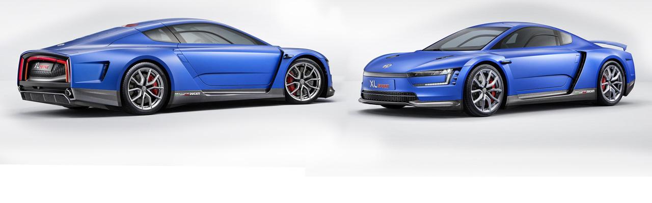 Volkswagen XL Sport, pequeño deportivo con motor de Ducati