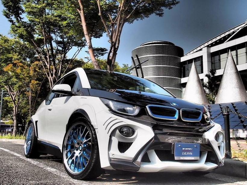 El BMW i3 más radical, por el preparador japonés Eve Ryn